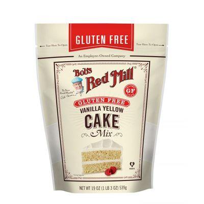 BOB'S RED MILL GLUTEN FREE VANILLA CAKE MIX 19OZ