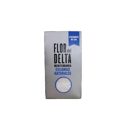 FLOR DEL DELTA NATURAL SEA SALT FLAKES 125G