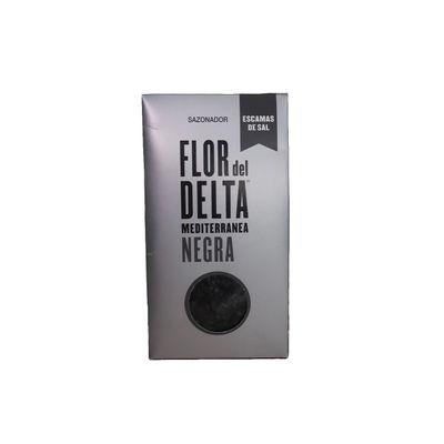 FLOR DEL DELTA BLACK SEA SALT FLAKES 125G
