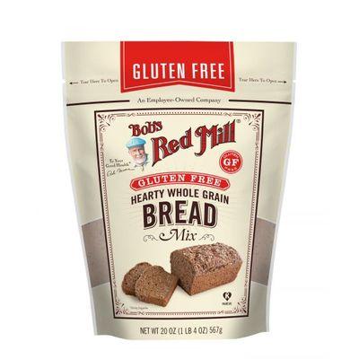 BOB'S RED MILL GLUTEN FREE HEARTY WHOLE GRAIN BREAD 20OZ