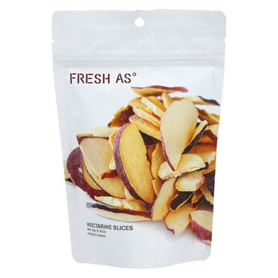 FRESH AS FREEZE DRIED NECTARINE SLICES 26G