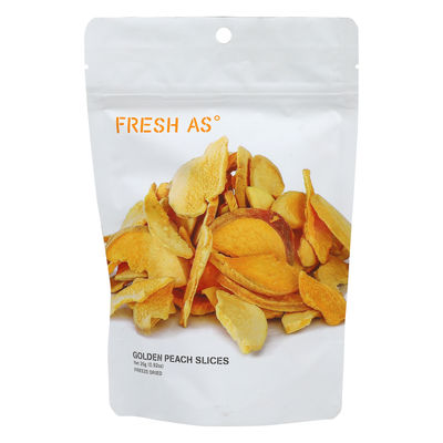 FRESH AS FREEZE DRIED GOLDEN PEACH SLICES 26G