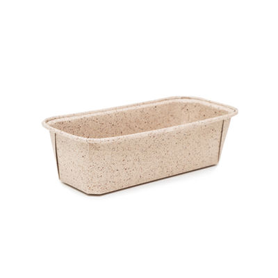 ECOPACK PLUM LOAF PAN COCOA PAPER 158X55 5PC