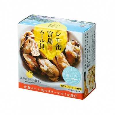 POWDER FOODS CANNED MUSSELS WITH LEMON 65G