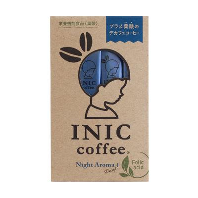 INIC COFFEE NIGHT AROMA WITH FOLID ACID 12P