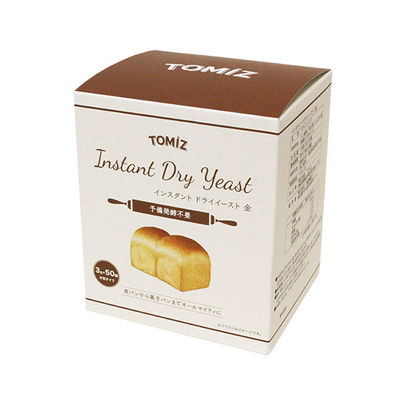 TOMIZ INSTANT DRY YEAST(GOLD) 50X3G