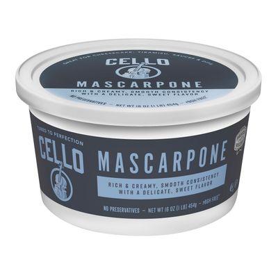 CELLO MASCARPONE 454G [Best Before:08-10-21]