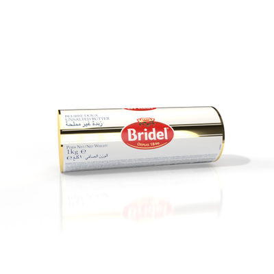 BRIDEL UNSALTED BUTTER ROLL 1KG