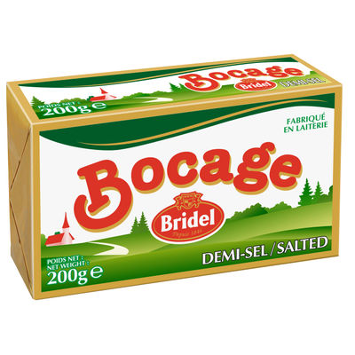 BOCAGE SALTED BUTTER BLEND 80% FAT 200G