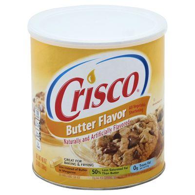 CRISCO SHORTENING BUTTER FLAVOUR 3LB
