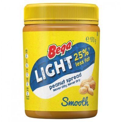 PEANUT BUTTER LIGHT SMOOTH 470G