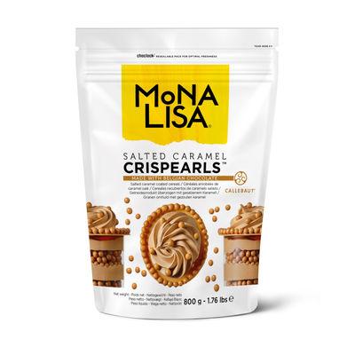 MONA LISA CHOCOLATE COATED CARAMEL CRISPY PEARLS 800G ML