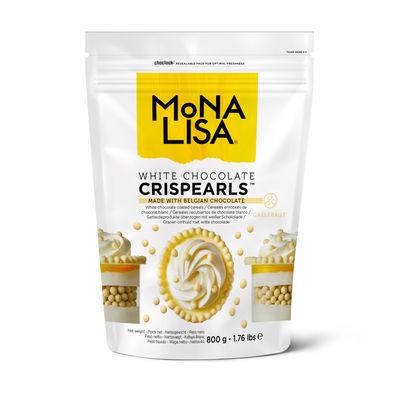 MONA LISA CRISPY PEARL WHITE CHOCOLATE 800G ML