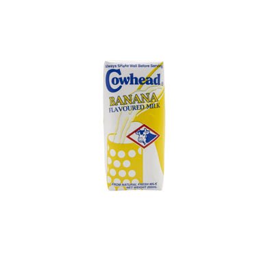COWHEAD UHT BANANA MILK (3X200ML)