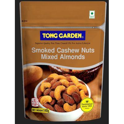 TONG GARDEN SMOKE CASHEW NUTS MIXED ALMOND 140G
