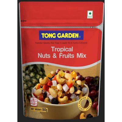 TONG GARDEN TROPICAL NUTS & FRUITS MIX 180G