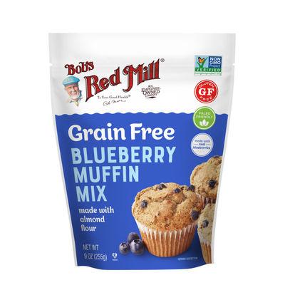 GLUTEN FREE GRAIN FREE BLUEBERRY MUFFIN MIX 9OZ
