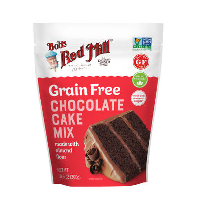 GLUTEN FREE GRAIN FREE CHOCOLATE CAKE MIX  10.5OZ