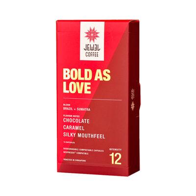 JEWEL COFFEE BOLD AS LOVE COFFEE CAPSULE 10PCX5.4G