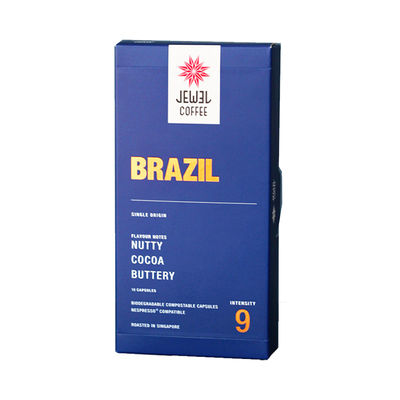 JEWEL COFFEE BRAZIL COFFEE CAPSULE 10PCX5.4G