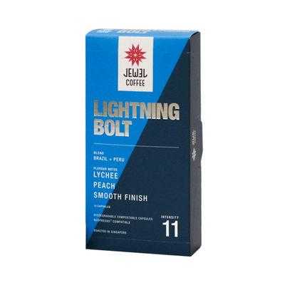 JEWEL COFFEE LIGHTNING BOLT COFFEE CAPSULE 10PCX5.4G