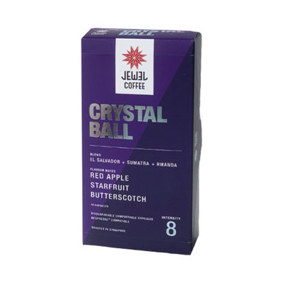 JEWEL COFFEE CRYSTAL BALL COFFEE CAPSULE 10PCX5.4G