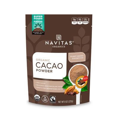 NAVITAS COCOA POWDER ORGANIC 227G