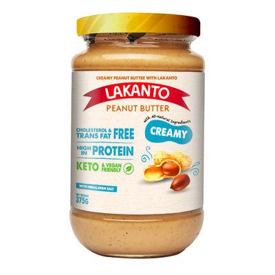 LAKANTO LAKANTO CREAMY PEANUT BUTTER 375G