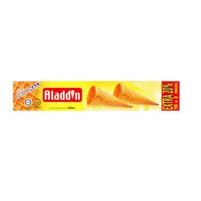ALADDIN ICE CREAM CONE 12PC