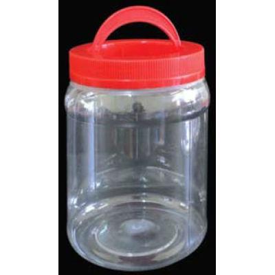 NCI ROUND PET BOTTLE RED CAP W HANDLE 1.2L 4021PH