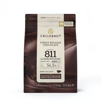 DARK COUVERTURE CHOCOLATE 54.5% 2.5KG