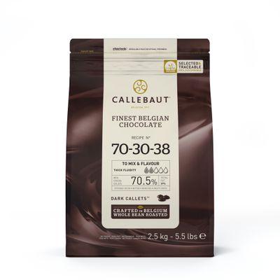 DARK COUVERTURE CHOCOLATE 70.5% 2.5KG