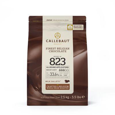 MILK COUVERTURE CHOCOLATE 33.6% 2.5KG