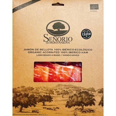 SENORIO ORGANICE IBERICO HAM ACORN HAND CARVED 80G