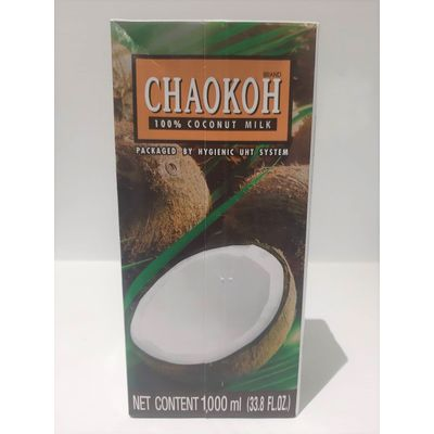 CHAOKOH UHT COCONUT MILK 1L