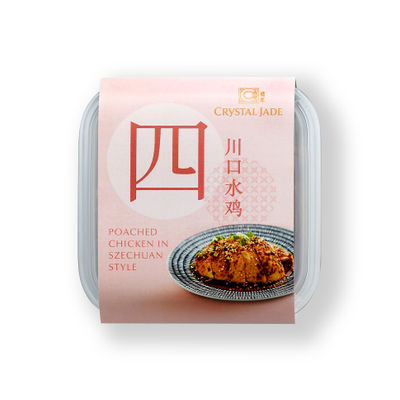 CRYSTAL JADE CHICKEN POACHED IN SZECHUAN STYLE 250G