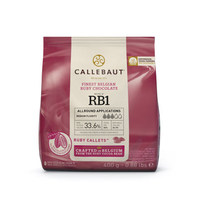 RUBY CHOCOLATE COUVERTURE 400G