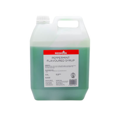 REDMAN PEPPERMINT FLAVOURED SYRUP 5KG
