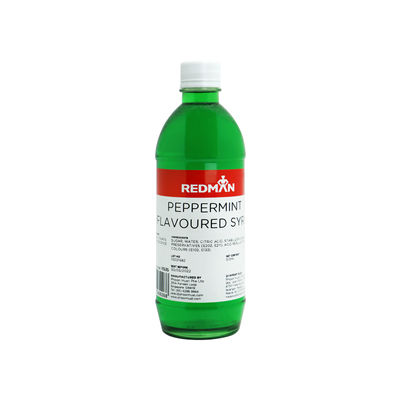 REDMAN PEPPERMINT FLAVOURED SYRUP 510ML
