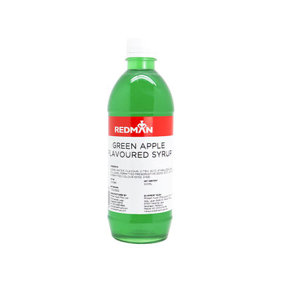 REDMAN GREEN APPLE FLAVOURED SYRUP 510ML