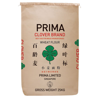 PRIMA CLOVER WHEAT FLOUR FOR BREAD 25KG