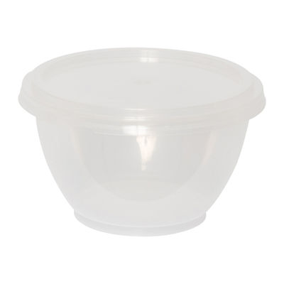 PP PLASTIC MICROWAVABLE CONTAINER 200ML ╪93MMX52MM 50PC