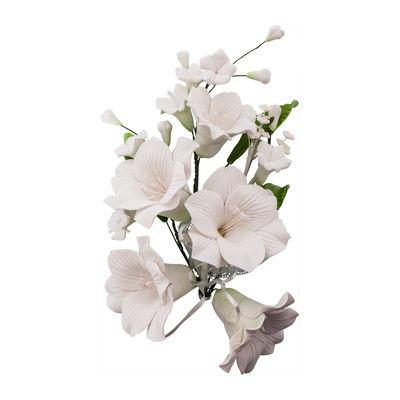 GUM PASTE FLOWER LILY WHITE (L) 16X21CM