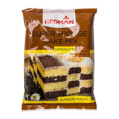 REDMAN SUPER SPONGE CAKE MIX CHOCOLATE 1KG