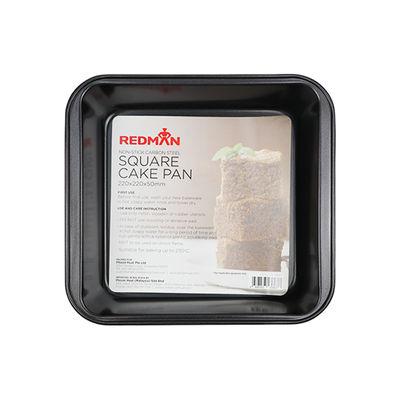 REDMAN PAN CAKE SQUARE 22X22X5CM