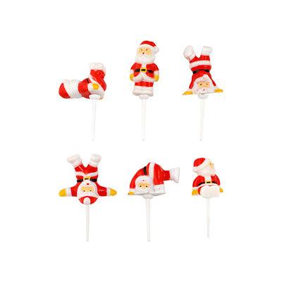 CHRISTMAS SANTA PLAYFUL SET C001P 6PC