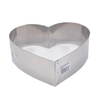 "REDMAN CAKE RING HEART SHAPE 7X2.5"""