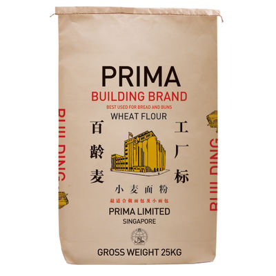 PRIMA BUILDING WHEAT FLOUR FOR BREAD 25KG