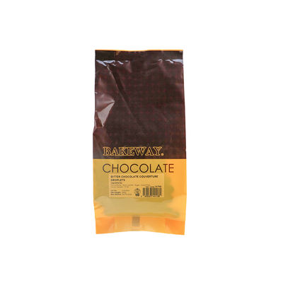 BAKEWAY BITTER CHOCOLATE COUVERTURE DROPLETS 250G