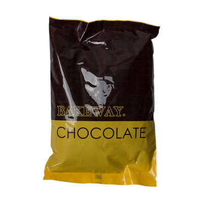 BAKEWAY BITTER CHOCOLATE COUVERTURE DROPLETS 1KG
